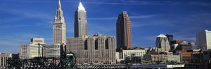 Skyscrapers in a city, Cleveland, Ohio, USA