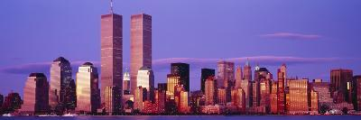 Skyscrapers in a City, Manhattan, New York City, New York State, USA--Photographic Print