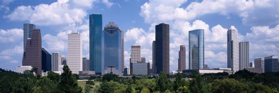 Skyscrapers in Houston, Texas, USA--Photographic Print