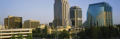 Skyscrapers in Sacramento, California, USA--Photographic Print