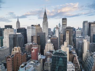 Skyscrapers of Manhattan, New York City-Fraser Hall-Photographic Print