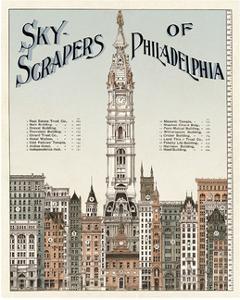 Skyscrapers of Philadelphia, c. 1898