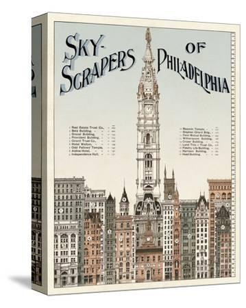 Skyscrapers of Philadelphia, c. 1898