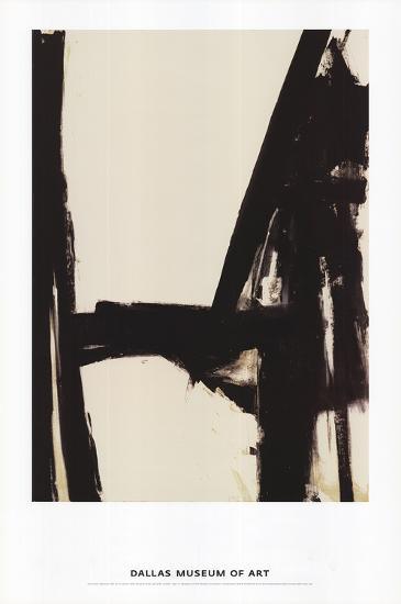 Slate Cross-Franz Kline-Art Print