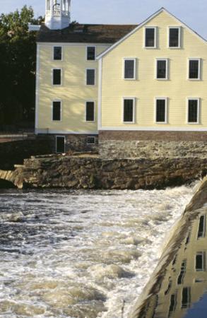 Slater's Mill, First U.S. Textile Factory, Pawtucket, Rhode Island