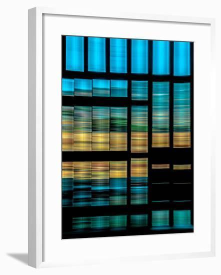 Slatted Barn Kinetic-Steven Maxx-Framed Photographic Print
