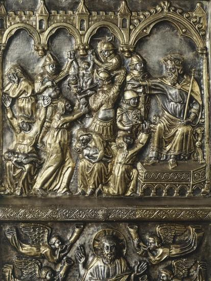 Slaughter of Innocents, Panel on Frontal of Altar of St James-Andrea Di Jacopo D'Ognabene-Giclee Print