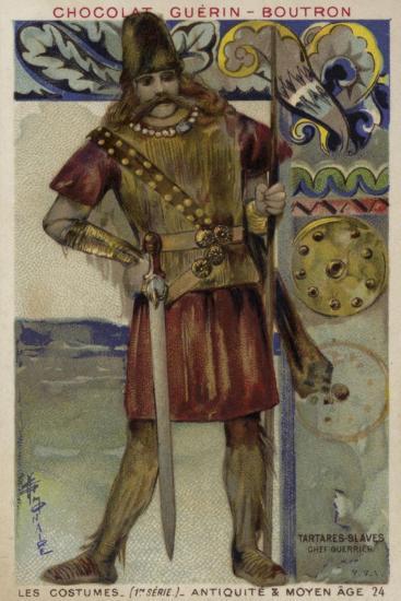 Slav Tartar Warrior Chief--Giclee Print
