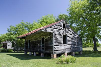Slave Cabin, Vacherie, New Orleans, Louisiana, USA-Cindy Miller Hopkins-Photographic Print