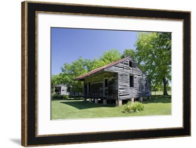Slave Cabin, Vacherie, New Orleans, Louisiana, USA-Cindy Miller Hopkins-Framed Photographic Print