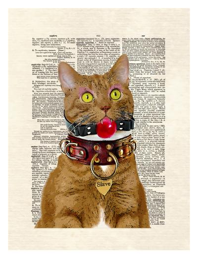 Slave Kitty-Matt Dinniman-Art Print