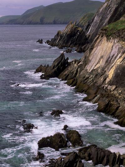 Slea Head, and Blasket Islands, Dingle Peninsula, County Kerry, Munster, Republic of Ireland-Patrick Dieudonne-Photographic Print
