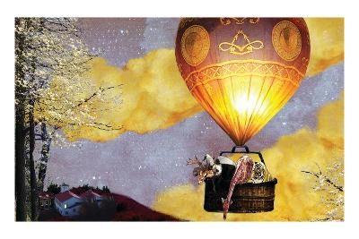 Sleep Balloon-Nancy Tillman-Art Print