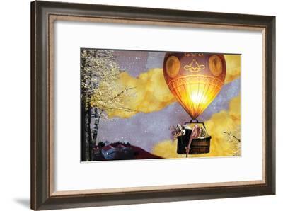 Sleep Balloon-Nancy Tillman-Framed Art Print