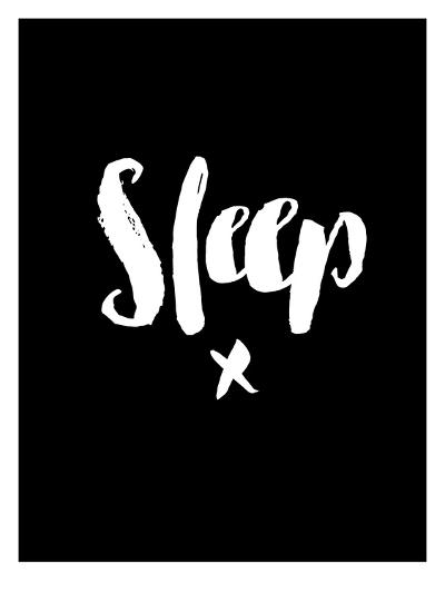 Sleep Blk-Brett Wilson-Art Print