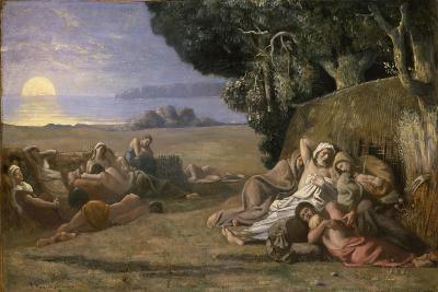 Sleep, c.1867-70-Pierre Puvis de Chavannes-Giclee Print
