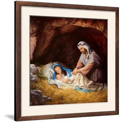 Sleep in Heavenly Peace-Mark Missman-Framed Photographic Print