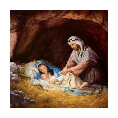 Sleep in Heavenly Peace-Mark Missman-Art Print