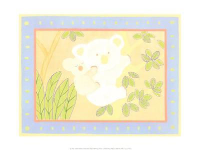 Sleep Tight Koala Bears-Isabelle Deguern-Art Print