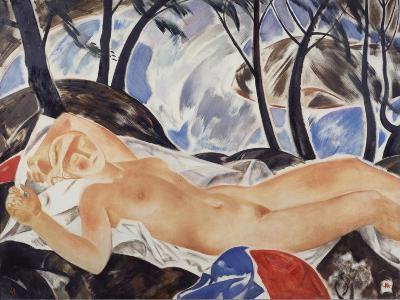 Sleep-Andrei Andreyevich Mylnikov-Giclee Print