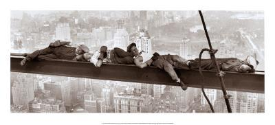 Sleeping above Manhattan--Art Print