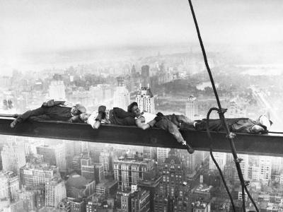 Sleeping Above Manhattan--Art Print