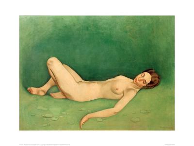 Sleeping Bather-F?lix Vallotton-Giclee Print