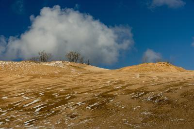 Sleeping Bear Dunes National Lakeshore on the East Side of Lake Michigan-Michael Melford-Photographic Print