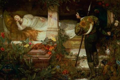 Sleeping Beauty-Edward Frederick Brewtnall-Giclee Print