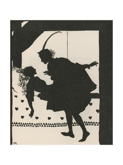 Sleeping Beauty-Arthur Rackham-Giclee Print