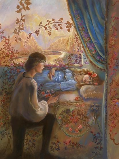 Sleeping Beauty-Judy Mastrangelo-Giclee Print
