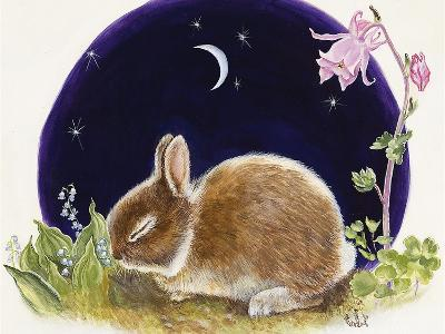 Sleeping Bunny-Judy Mastrangelo-Giclee Print