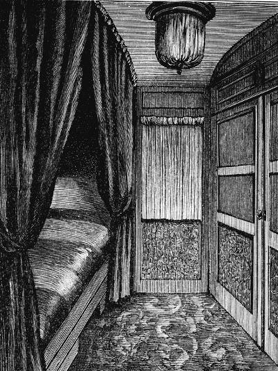 Sleeping Compartment on the Orient Express, C1895--Giclee Print