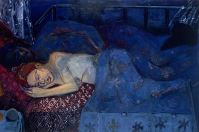 Sleeping Couple, 1997-Julie Held-Giclee Print