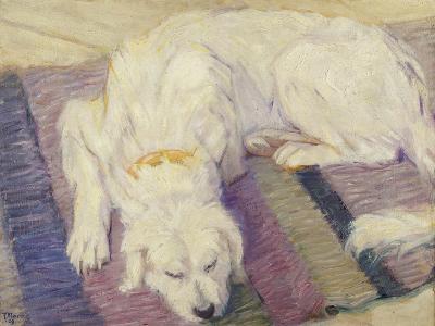 Sleeping Dog, 1909-Franz Marc-Giclee Print