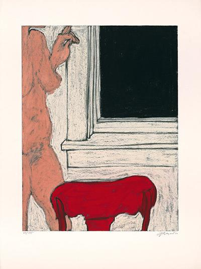 Sleeping Girl V-George Segal-Limited Edition