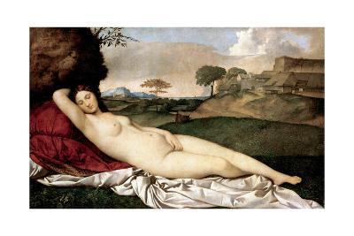 Sleeping Venus-Giorgione-Giclee Print