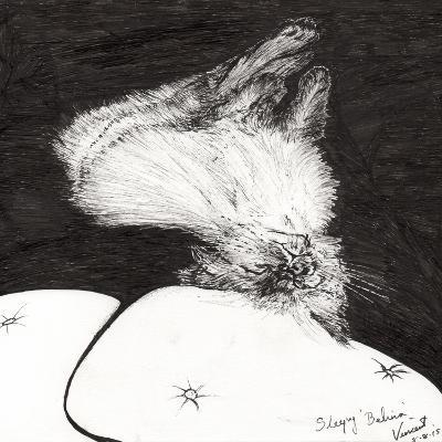 Sleepy Belina, 2015-Vincent Alexander Booth-Giclee Print