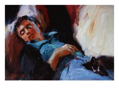 Sleepy Saturday-Pam Ingalls-Giclee Print