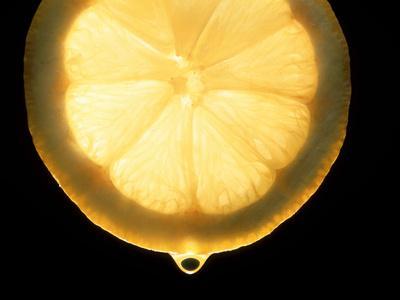 Slice of Lemon-Victor De Schwanberg-Premium Photographic Print