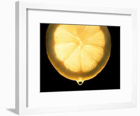 Slice of Lemon-Victor De Schwanberg-Framed Photographic Print