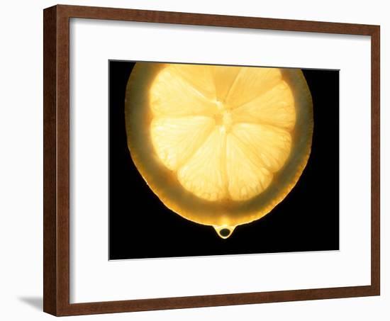 Slice of Lemon-Victor De Schwanberg-Framed Photographic Print