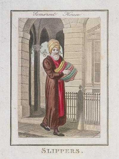 Slippers, Cries of London, 1804-William Marshall Craig-Giclee Print