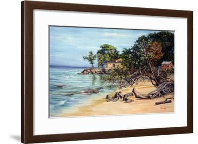 Slipping Sand, 1999-Victor Collector-Framed Giclee Print