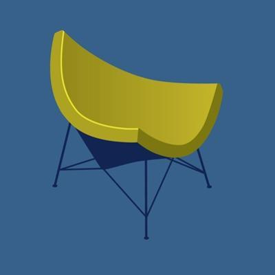Mid Century Chair I by Sloane Addison