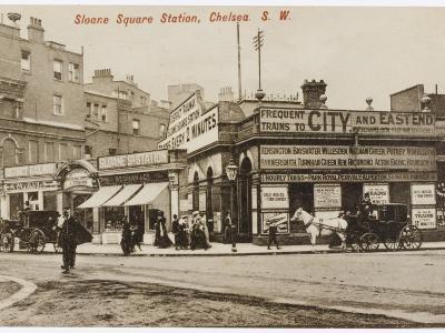 Sloane Square Station--Photographic Print