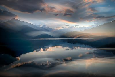 Slocan Lake At Sunset 6-Ursula Abresch-Photographic Print