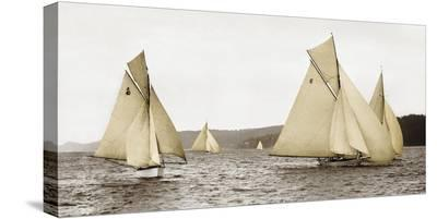 Sloops racing, 1926--Stretched Canvas Print