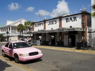 Sloppy Joe's Bar, Famous Because Ernest Hemingway Drank There, Duval Street, Florida-R H Productions-Photographic Print