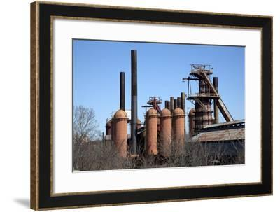 Sloss Furnace, Birmingham, Alabama-Carol Highsmith-Framed Art Print